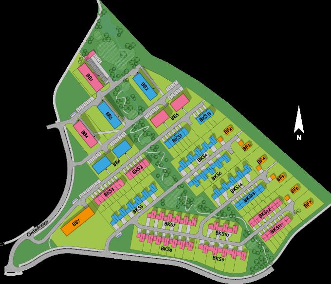 kart over klepp